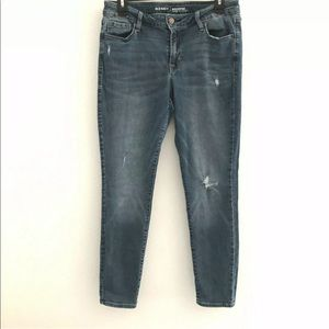 Old Navy 10 short jeans rockstar skinny distressed